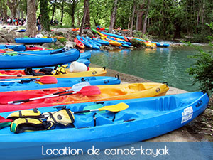 location de canoë-kayak