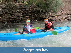 stage canoë-kayak adultes