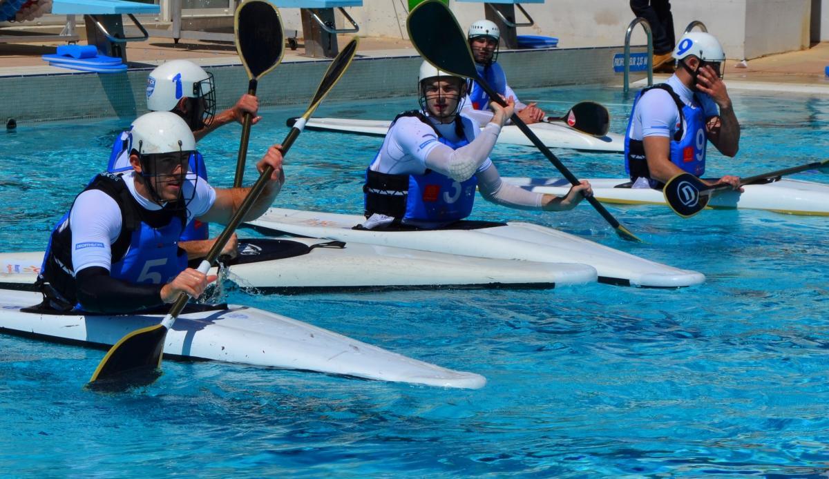 championnat kayak polo division 1 Montpellier 2014