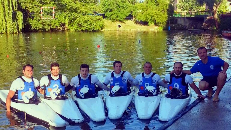le MACK-UC toujours en course kayak polo 2014