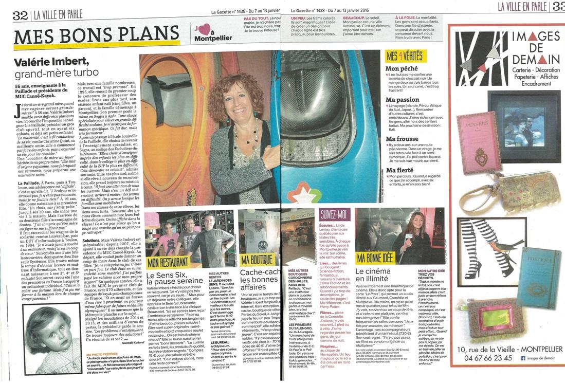 la gazette 2016 R